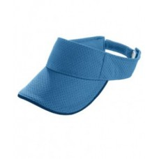 6224 Youth Athletic Mesh Two-Color Visor - Augusta Drop Ship Visors