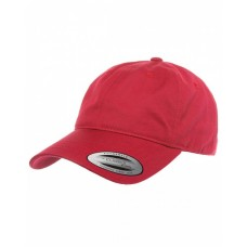 6245CM Adult Low-Profile Cotton Twill Dad Cap - Yupoong Caps