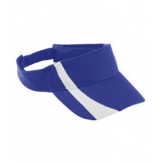 6261 Youth Adjustable Wicking Mesh Two-Color Visor - Augusta Drop Ship Visors