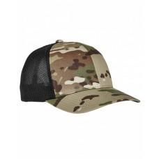 6511MC Adult Flexfit® Multicam® Trucker Mesh Cap - Yupoong Caps