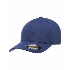 6584 Flexfit Cool & Dry 3D Hexagon Jersey Cap - Yupoong Caps