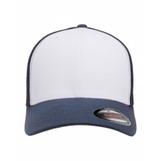 6606W YP Classics® Adult Adjustable White-Front Panel Trucker Cap - Yupoong Caps