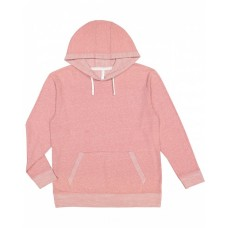 6779 Adult Harborside Melange French Terry Hooded Sweatshirt - LAT Hooded Sweatshirts