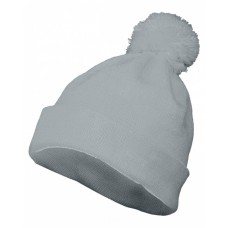 6816 Two Layer Acrylic Knit Pom Beanie - Augusta Drop Ship Beanies