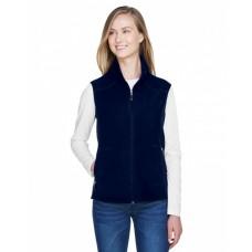78173 Ladies' Voyage Fleece Vest - North End Womens Vests
