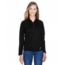 78187 Ladies' Radar Quarter-Zip Performance Long-Sleeve Top - North End Womens Sweatshirts