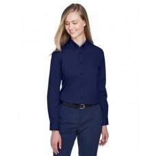 78193 Ladies' Operate Long-Sleeve Twill Shirt - Core 365 Women Woven Shirts