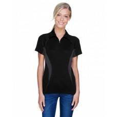 78657 Ladies' Serac UTK cool?logik™ Performance Zippered Polo - North End Women Polo Shirts