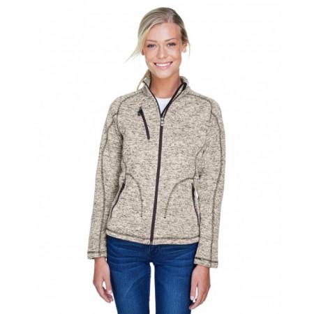 78669 Ladies' Peak Sweater Fleece Jacket - North End Jackets
