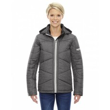 78698 Ladies' Avant Tech Mélange Insulated Jacket with Heat Reflect Technology - North End Womens Jackets