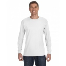 7930 5.6 oz., 50/50 Best™ Long-Sleeve T-Shirt - Fruit of the Loom T Shirts