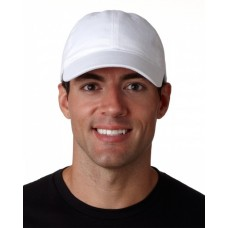 8111 Adult Classic Cut Brushed Cotton Twill Unstructured Cap - UltraClub Caps