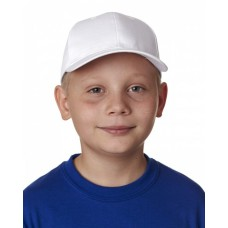 8122 Youth Classic Cut Cotton Twill6-Panel Cap - UltraClub Caps