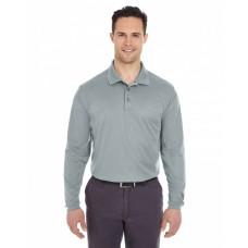 8210LS Adult Cool & Dry Long-Sleeve MeshPiqué Polo - UltraClub Polo Shirts