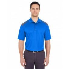 8215 Adult Cool & Dry Two-Tone Mesh Piqué Polo - UltraClub Polo Shirts