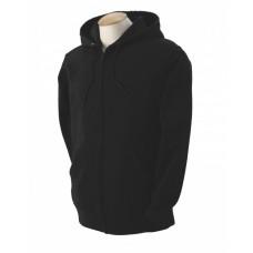 82230 Adult Supercotton™ Full-Zip Hooded Sweatshirt - Fruit of the Loom Hooded Sweatshirts