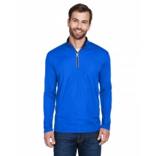8230 Men's Cool & Dry Sport Quarter-Zip Pullover - UltraClub Mens Sweatshirts