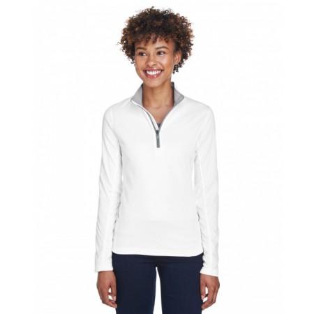 8230L Ladies' Cool & Dry Sport Quarter-Zip Pullover - UltraClub Womens Sweatshirts