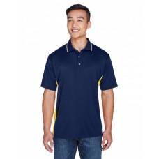 8406 Men's Cool & Dry Sport Two-Tone Polo - UltraClub Mens Polo Shirts