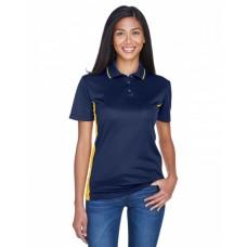 8406L Ladies' Cool & Dry Sport Two-Tone Polo - UltraClub Women Polo Shirts
