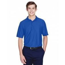 8413 Men's Cool & Dry Elite Tonal Stripe Performance Polo - UltraClub Mens Polo Shirts