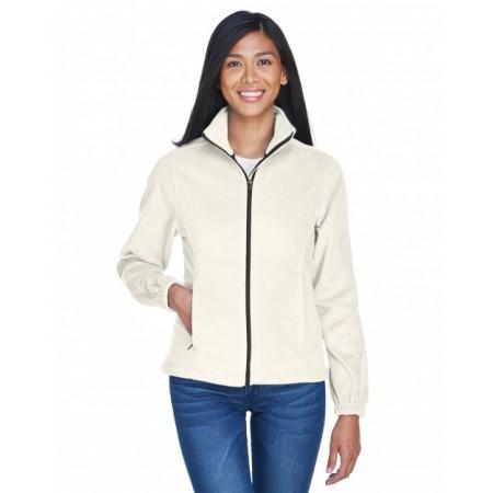 8481 Ladies' Iceberg Fleece Full-Zip Jacket - UltraClub Jackets