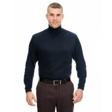 8516 Adult Egyptian Interlock Long-Sleeve Turtleneck - UltraClub Polo Shirts