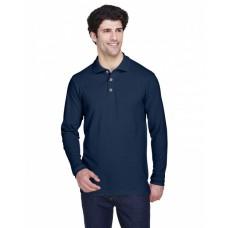 8532 Adult Long-Sleeve Classic Piqué Polo - UltraClub Polo Shirts