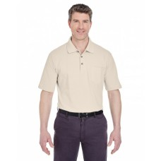 8534 Adult Classic Piqué Polo withPocket - UltraClub Polo Shirts