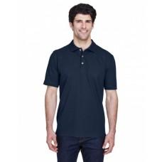 8535T Men's Tall Classic Piqué Polo - UltraClub Mens Polo Shirts