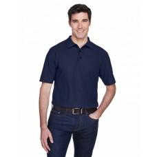 8540T Men's Tall Whisper Piqué Polo - UltraClub Mens Polo Shirts