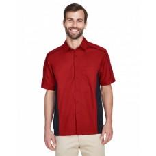 87042 Men's Fuse Colorblock Twill Shirt - North End Mens Woven Shirts