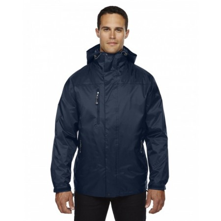 88120 Adult Performance 3-in-1 Seam-Sealed Hooded Jacket - North End Hooded Sweatshirts