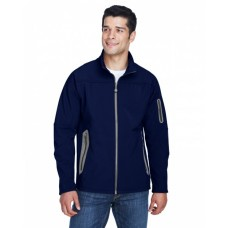 88138 Men's Three-Layer Fleece Bonded Soft Shell Technical Jacket - North End Mens Jackets