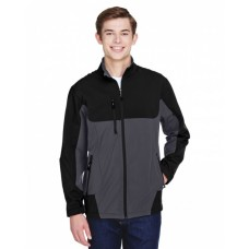 88156 Men's Compass Colorblock Three-Layer Fleece Bonded Soft Shell Jacket - North End Mens Jackets