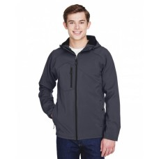 88166 Men's Prospect Two-Layer Fleece Bonded Soft Shell Hooded Jacket - North End Mens Jackets
