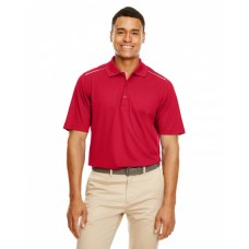 88181R Men's Radiant Performance Piqué Polo withReflective Piping - Core 365 Mens Polo Shirts
