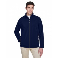 88184T Men's Tall Cruise Two-Layer Fleece Bonded SoftShell Jacket - Core 365 Mens Jackets