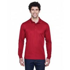 88192 Men's Pinnacle Performance Long-Sleeve Piqué Polo - Core 365 Mens Polo Shirts
