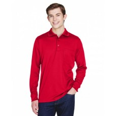 88192P Adult Pinnacle Performance Long-Sleeve Piqué Polo with Pocket - Core 365 Polo Shirts