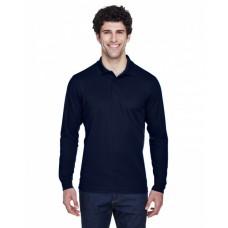 88192T Men's Tall Pinnacle Performance Long-Sleeve Piqué Polo - Core 365 Mens Polo Shirts