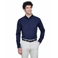 88193 Men's Operate Long-Sleeve TwillShirt - Core 365 Mens Woven Shirts