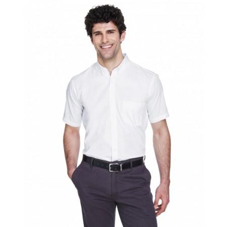 88194 Men's Optimum Short-Sleeve Twill Shirt - Core 365 Mens Woven Shirts