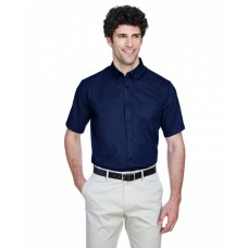 88194T Men's Tall Optimum Short-Sleeve Twill Shirt - Core 365 Mens Woven Shirts