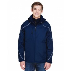 88196 Men's Angle 3-in-1 Jacket with Bonded Fleece Liner - North End Mens Jackets