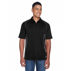 88657 Men's Serac UTK cool-logik™ Performance Zippered Polo - North End Mens Polo Shirts