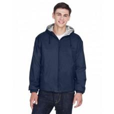 8915 Adult Fleece-Lined HoodedJacket - UltraClub Jackets