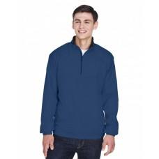 8936 Adult Micro-Poly Quarter-Zip Wind Shirt - UltraClub Wind Shirts