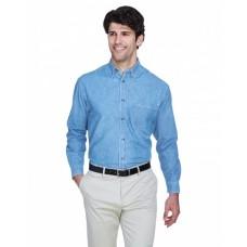 8960 Men's Cypress Denim withPocket - UltraClub Mens Woven Shirts