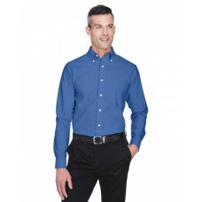 8970T Men's Tall Classic Wrinkle-Resistant Long-Sleeve Oxford - UltraClub Mens Woven Shirts